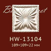 Угловая вставка Classic Home New HW-13104, лепной декор из полиуретана