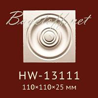 Угловая вставка Classic Home New HW-13111, лепной декор из полиуретана