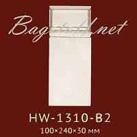 База под колонну Classic Home New HW-1310-B2, лепной декор из полиуретана