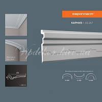 Карниз(плинтус) потолочный гладкий Европласт 1.50.267, лепной декор из полиуретана