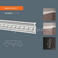 Молдинг на стену(стеновой) с орнаментом Европласт 1.51.331 Flex/Гибкий, лепной декор из полиуретана