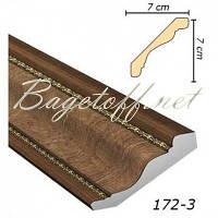 Карниз(плинтус) потолочный Арт-Багет 172-3, интерьерный декор