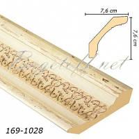 Карниз(плинтус) потолочный Арт-Багет 169-1028, интерьерный декор