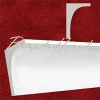 Карниз(плинтус) потолочный гипсовый гладкий КЛ180120, лепнина из гипса