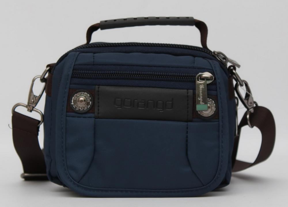 1210f3903419 Мужская сумка - барсетка известного бренда Gorangd. Оригинальное качество.  Стильный дизайн. Купить.
