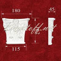 Пилястра Капитель колонны гипсовая ПК1101, лепнина из гипса