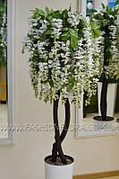 Искусственное растения Глициния White