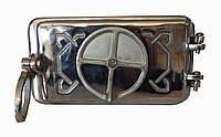 Поддувальная печная дверца (полированная) - Dunántúl 25 х 14 см/ 22х11см