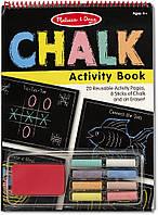 Набор для рисования мелом Melissa & Doug Chalk Activity Book (MD4503)