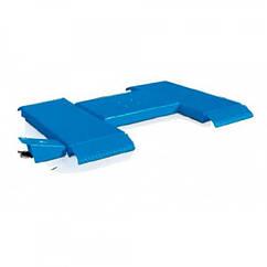 Подъемник ножничный (пневматический, низкопрофильный, грузоподъёмность 2500кг, длина подхватов 1300мм) RAV1380 RAVAGLIOLI - Made in Italy