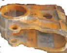 Корпус седлового подшипника чертеж 1080.55.303(запчасти к экскаваторам ЭКГ-4,6, ЭКГ-5, ЭКГ-5А)