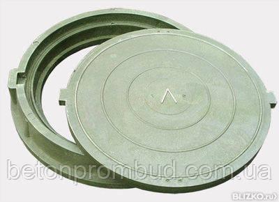 Крышка к полимерпещанному  люку (2т)