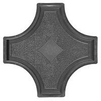 Форма для тротуарной плитки Рондо крест большой. За 50 шт. - 18.54 грн.