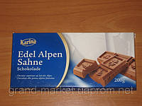 "Шоколад "" Karina"" Edel Alpen Sahne - Альпийский Крем , 200г (Германия)"