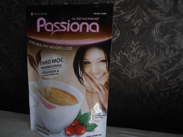 Кофе для похудения Пасиона