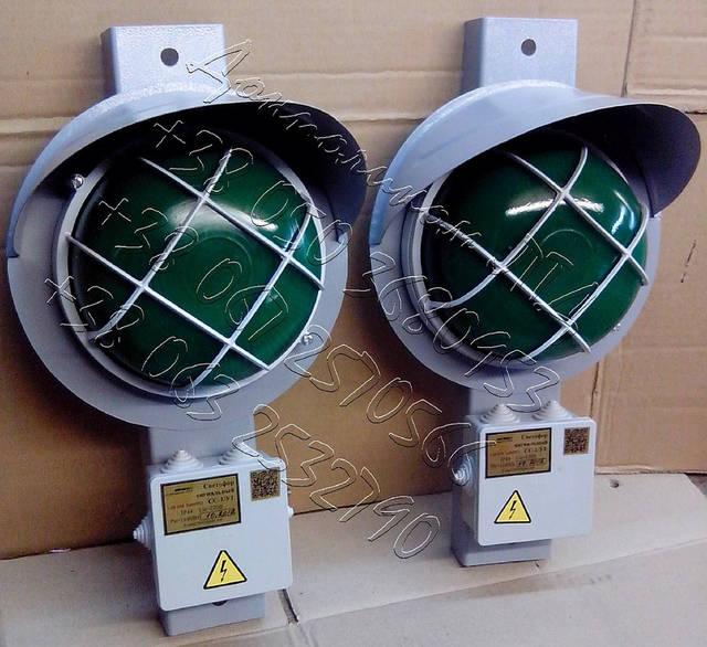 СС1/40 - светофор сигнализатор троллейный крановый 16