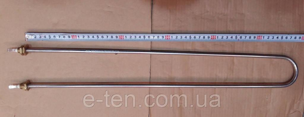 Тэн гибкий водяной (ДУГА) Ø8,5мм / 2000W / штуцер Ø14мм / L боковая= 60см из нержавейки      Sanal, Турция