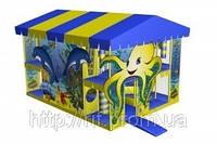 Дизайн игровой комнаты «Море»
