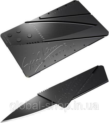 Нож трансформер , CardSharp , нож-кредитка