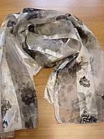 Женские атласные шарфы