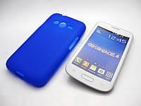 Чехол силиконовый Samsung SM-G313 Galaxy Ace 4 синий
