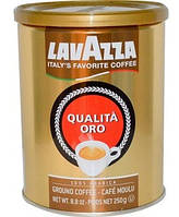 Кофе Lavazza молотый Qualità Oro, 250 г ж/б
