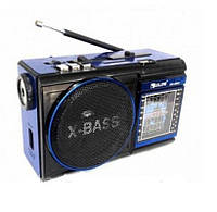 Радиоприёмник GOLON RX-9009, фонарь, USB. SD