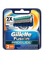 Сменные кассеты для бритья Gillette Fusion ProGlide (2 шт.)