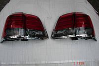 Задние фонари диодные Led темно-красные (стиль Lexus) для Toyota Land Cruiser 200 2008-