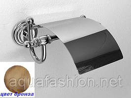 Бронзовий тримач туалетного паперу Pacini&Saccardi Rome 30054