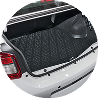 Ковер в багажник  L.Locker   MG 3 Cross hb (13-)