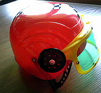 Шлем зашитный пластиковый