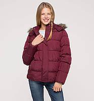 Теплая курточка на девочку от C&A , рост 152