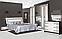"""Спальня,спальний гарнітур """"Бася новий"""" шафа 4дз, фото 4"""