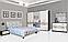 """Спальня,спальный гарнитур """"Бася новый"""" 1.6м (Нейла) кровать 2сп, фото 3"""