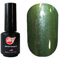 Гель-лак My Nail 9 ml №169 (бутылочно-зеленый с шиммером)