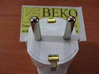 Вилка электрическая 3-полюсная FAR (Турция)