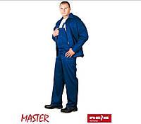 Костюм рабочий куртка + полукомбинезон синий