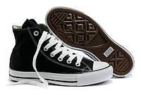 Мужские кеды Converse All Star, высокие кеды конверс олл стар черные
