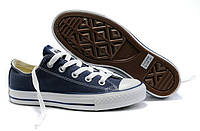 Мужские кеды Converse Chuck Taylor All Star, кеды конверс Чак Тейлор темно-синие