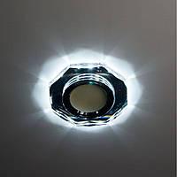 Точечный светильник Feron 8020-2 MR16 с LED подсветкой, фото 1