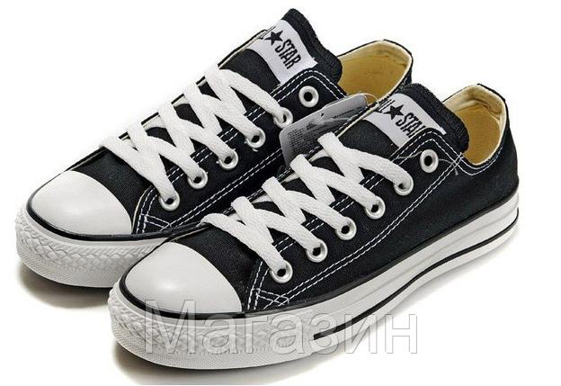 Мужские кеды Converse Chuck Taylor All Star, кеды конверс Чак Тейлор черные, фото 2