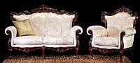"""Новый комплект мягкой мебели из Италии.Барокко Рококо """" Art # 8"""". Цена указанна в описании."""