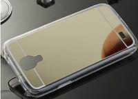 Золотой зеркальный чехол Samsung S4(i-9500)