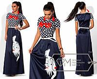 Длинное платье лю2041, фото 1