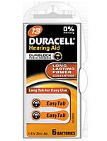 Батарейка Duracell DA13