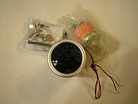 Прибор измерения давления масла Ket Gauge 52мм чёрный, фото 1