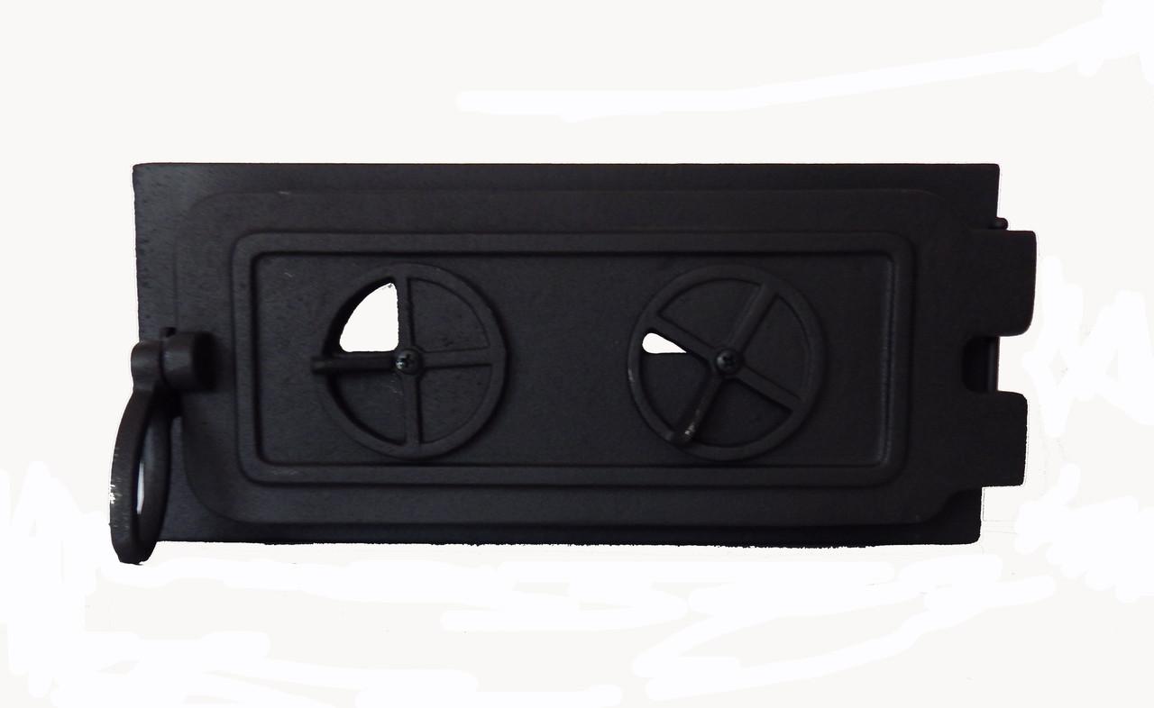 Чугунная зольная дверца - VVK 36 х 16 см/ 32х11см