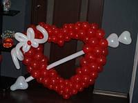 Признание в любви из шаров