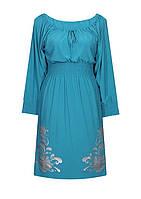 Платье трикотаж резинка Барвинок